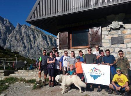 Trekking Jardinalp con la scuola forestale di Ormea